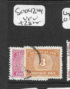 NEW ZEALAND (P1612B) POSTAGE DUE SGD42, 44 VFU