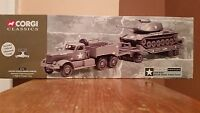 Corgi Classics Us Army Diamond T Tank Transporter+m60 A1 Medium Tank 55101 1/50