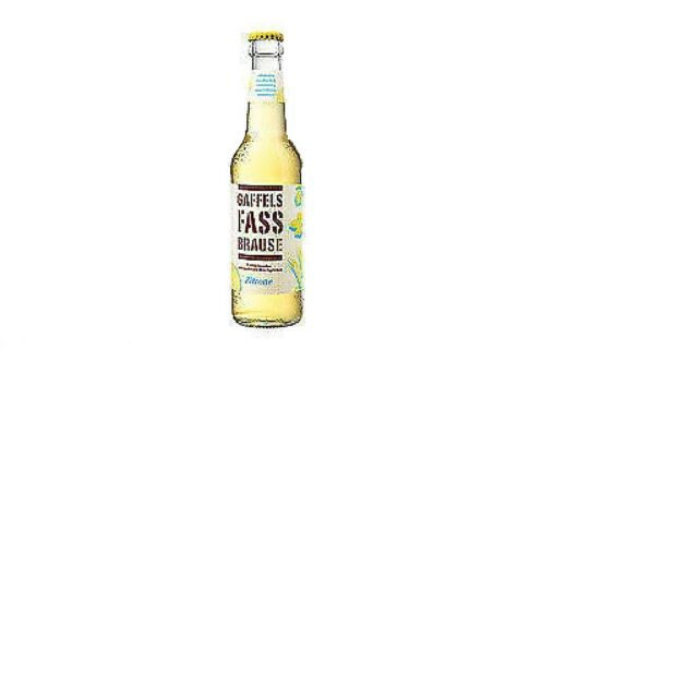 24 Flaschen A 033l Gaffel Fassbrause Zitrone Inc Mehrweg Pfand Alkoholfrei