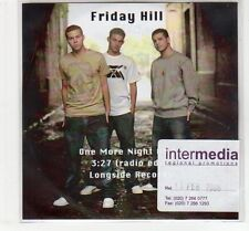 (EC583) Friday Hill, One More Night Alone - 2006 DJ CD