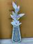 miniature 1 - Sparkle Palace Diamond Crushed Crystal Sparkly Mirrored Floor Vase 40CM+FLOWERS✨