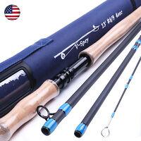 7/8/9wt Fly Rod 13ft 4sec Spey Medium-fast Fly Fishing Rod & Rod Case