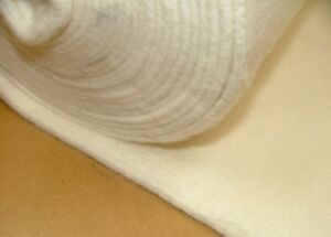 "THICK 100/% COTTON THERMAL LINING BUMP CURTAIN INTERLINING 55/"" WIDTH"