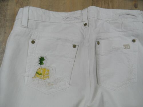 Joe's M blanc Jeans Cool Kos1217 Destroyed Top broderie 29 Wide Gr rqPw6UHnr