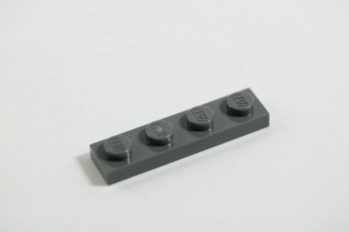 LEGO® Dark Gray Plate 1 x 4 Design ID 3710