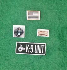 1/6 Iraq Afghanistan PMC Contractor K9 Dog Handler patch set