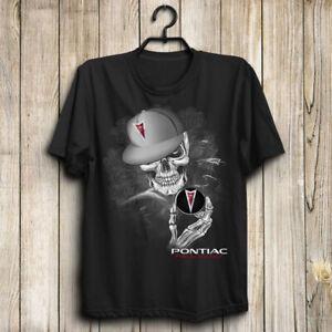 Pontiac-Skull-Grand-Prix-GTP-G8-Firebird-GTO-Vibe-Aveo-Men-039-s-US-Shirt-Top-Gift