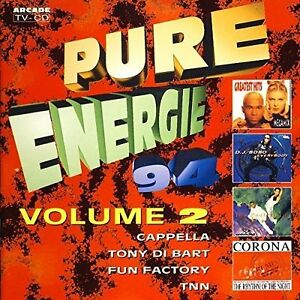 Pure-Energie-039-94-2-Corona-DJ-Bobo-2-Unlimited-Tony-di-Bart-Fun-Factor-CD