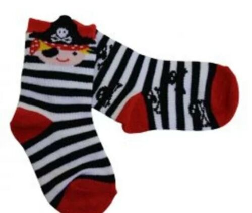 Powell Craft Pirate Chaussettes Âge 2-4 Ans