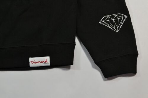 da Diamond Supply uomo Girocollo grigio Co Eternal Pullover nero Felpe 4SUqxAwRU