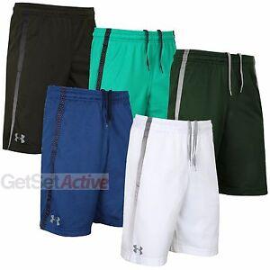 Under-Armour-Mens-Tech-HeatGear-10-Inch-Mesh-Woven-Training-Shorts-Gym-Running