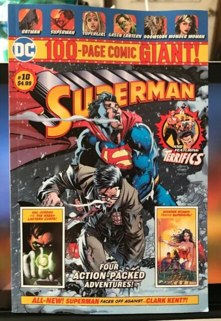 DC 100-PAGE Comic GIANT Walmart SUPERMAN # 10 Wal-Mart