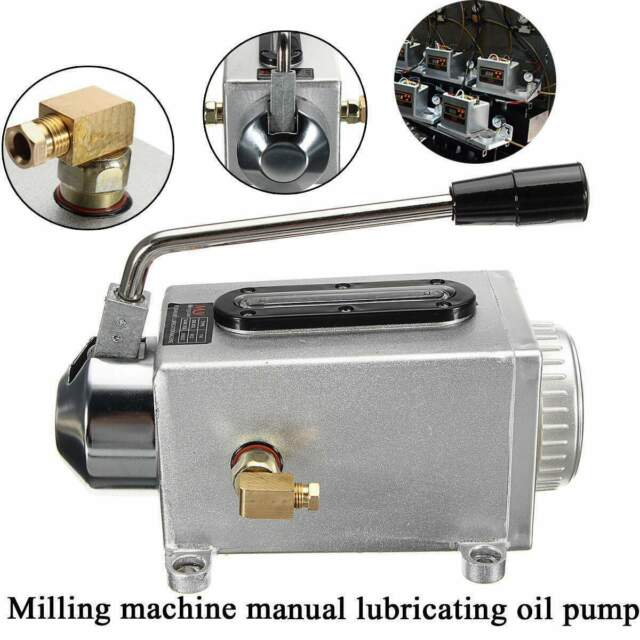 Manual pump lubricator One-Shot Lubrication Oiler for bridge milling machine Y-8