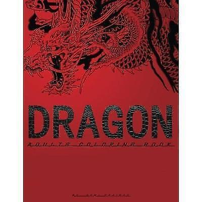 Dragon Adults Coloring Book By Sami Zaairat 2017 Paperback