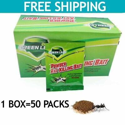 50 Packs Cockroach Killer Powder Roach Killing Bait FREE 5 PACKS /& FREE SHIPPING