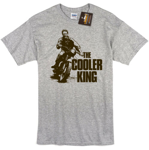 Retro Classic Film Motorbike NEW Cooler King Great Escape Inspired T-shirt