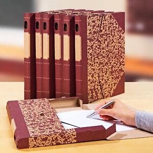 30xKartonmappen-DIN-A4-Schreibwaren-Heftsammler-aus-Pappe-Flohmarkt-Restposten
