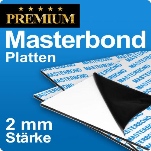 Aluminiumverbundplatte Masterbond Premium Aluverbundplatte 2mm Stärke stabil