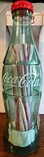 distributeur de paille COCA COLA bouteille bottle STRAW DISPENSER - NEUF