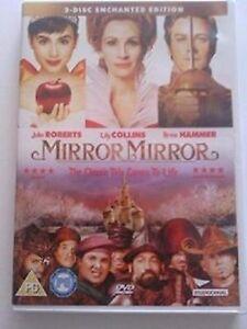 Mirror Mirror  2 Disc Enchanted Edition DVD NEW SEALED FREEPOST - MILTON KEYNES, Buckinghamshire, United Kingdom - Mirror Mirror  2 Disc Enchanted Edition DVD NEW SEALED FREEPOST - MILTON KEYNES, Buckinghamshire, United Kingdom