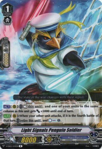 Light Signals Penguin Soldier R Cardfight V-EB02//030EN
