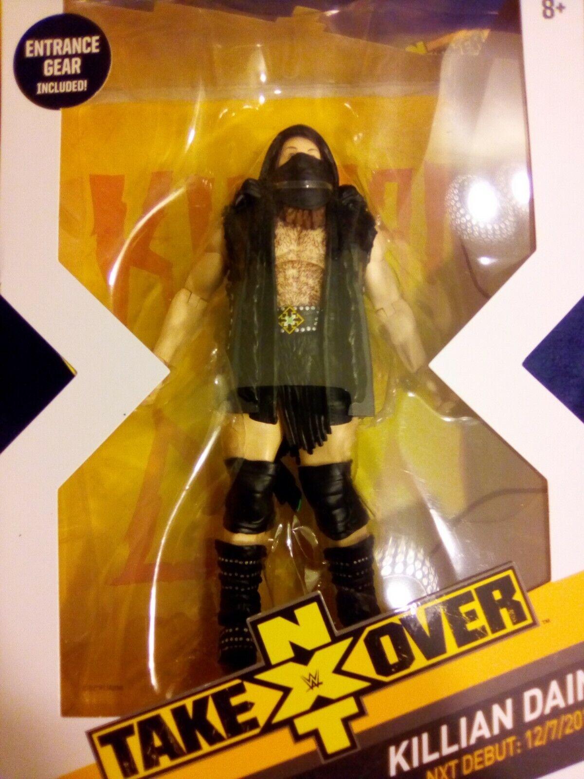 Mattel WWE NXT Elite Takeover Killian Dain Sanity