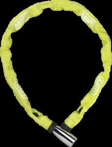 ABUS Kette 1500 Web L= 110cm  Fahrrad Schloss Schlösser  Lime