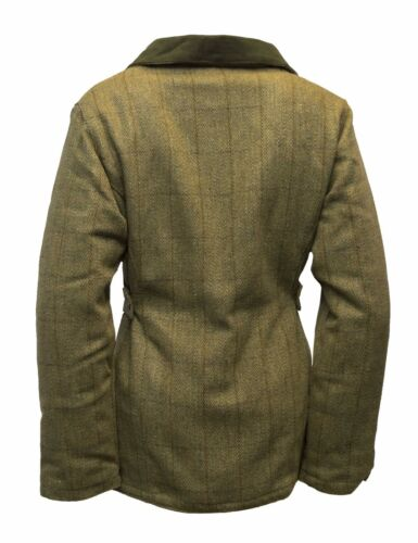Walker /& HAWKES Donna Derby Tweed Caccia Country Giacca Cappotto Tweed 8-24 Luce