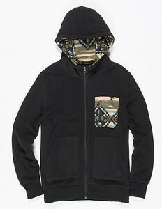 Hoody Element Zipped Black Flint In Richmond gqEqwB