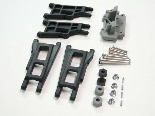 Hinge Pins//Hex Nuts VXL RUE1 NEW TRAXXAS RUSTLER Arms Front /& Rear