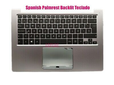 New Spanish keyboard for Asus ZenBook UX303L UX303LA X303LB UX303LN palmrest