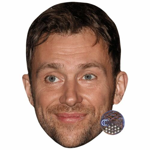 Damon Albarn Smile Celebrity Mask Card Face and Fancy Dress Mask