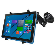 RAM HD Dual Articulating Suction Cup Mount for iPad Pro, Microsoft Surface Pro