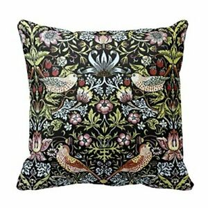6X-Decorative-Pillow-Case-William-Morris-birds-and-flowers-2-Pillowcase-J4C4