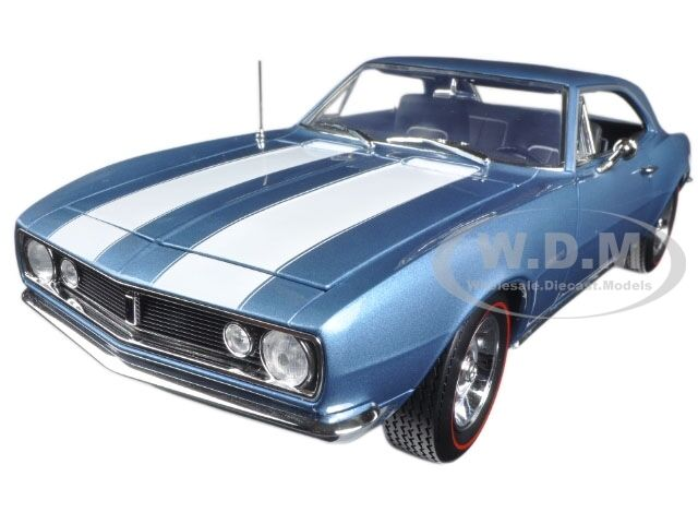 1967 Chevrolet Camaro Z 28 Bleu 50TH ANNIV Limited 1002PCS 1 18 par autoworld AMM1101