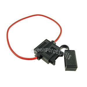10x fuse holder ATC blade type