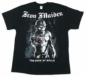 Iron-Maiden-sacrifice-Ed-Livre-des-ames-Noir-T-Shirt-New-Official-Band-Merch