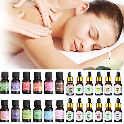 Fragrant/Essential Oils 10ml Aromatherapy Diffuser Burner Therapeutic Oils