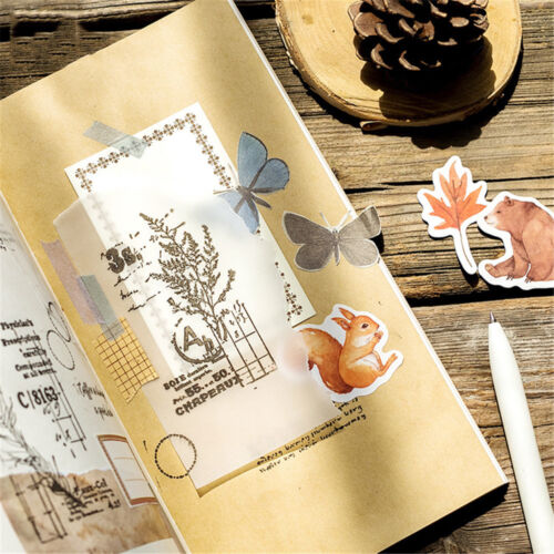 46pcs Forest Animals Stickers Stationery Scrapbooking Label Stickers Hot Sale