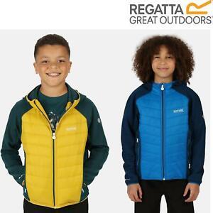 Regatta Kids Kielder IV Lightweight Hybrid Softshell Jacket Boys Girls Coat