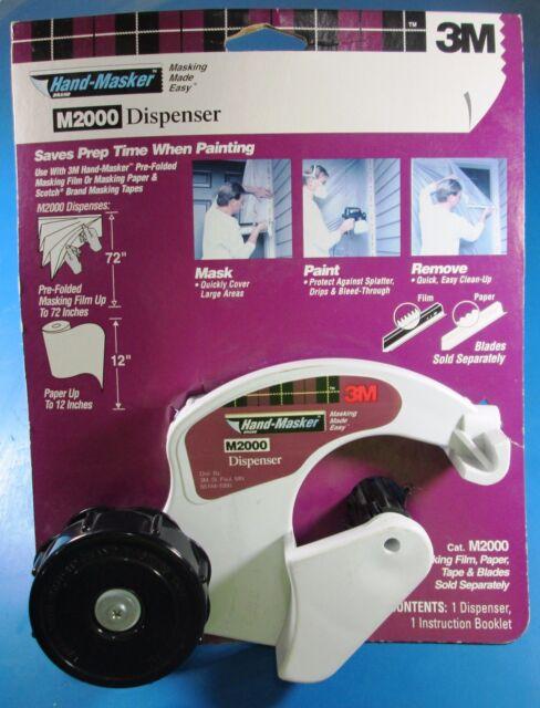 3m hand-masker masking tape dispenser
