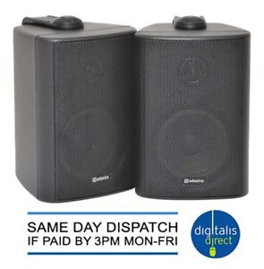 Outdoor stereo speakers weather resistant pair wall mounted loudspeakers new ebay - Altoparlanti da esterno ...