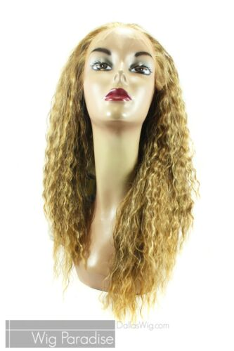 Aplus Ozone Soft Swiss Full Wavy Heat Resistant 012 Lace Front Wig