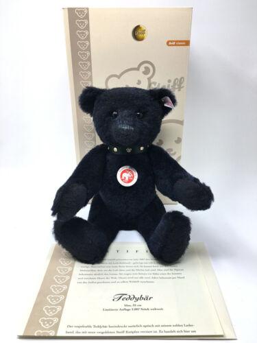 "STEIFF CLASSIC Dark Blue Alpaca Bear EAN 038280 32cm 13/"""