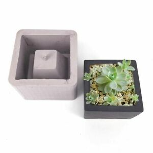 Square-Ceramic-Clay-Pots-Mold-Concrete-Planter-Silicone-Planter-Flowerpot-Mould