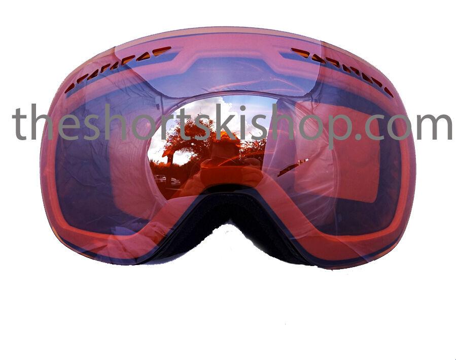 Dare2b Liberta Weiß Skibrille Doppel Sphärische Linse Uva Uvb Cat 2 Schutz