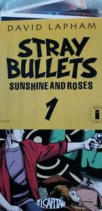 Stray Bullets #41 David Lapham Stock Image