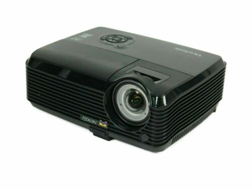 ViewSonic PJD6381 DLP Projector Short-Throw 3D 2500 ANSI HD 1080i HDMI-adapter