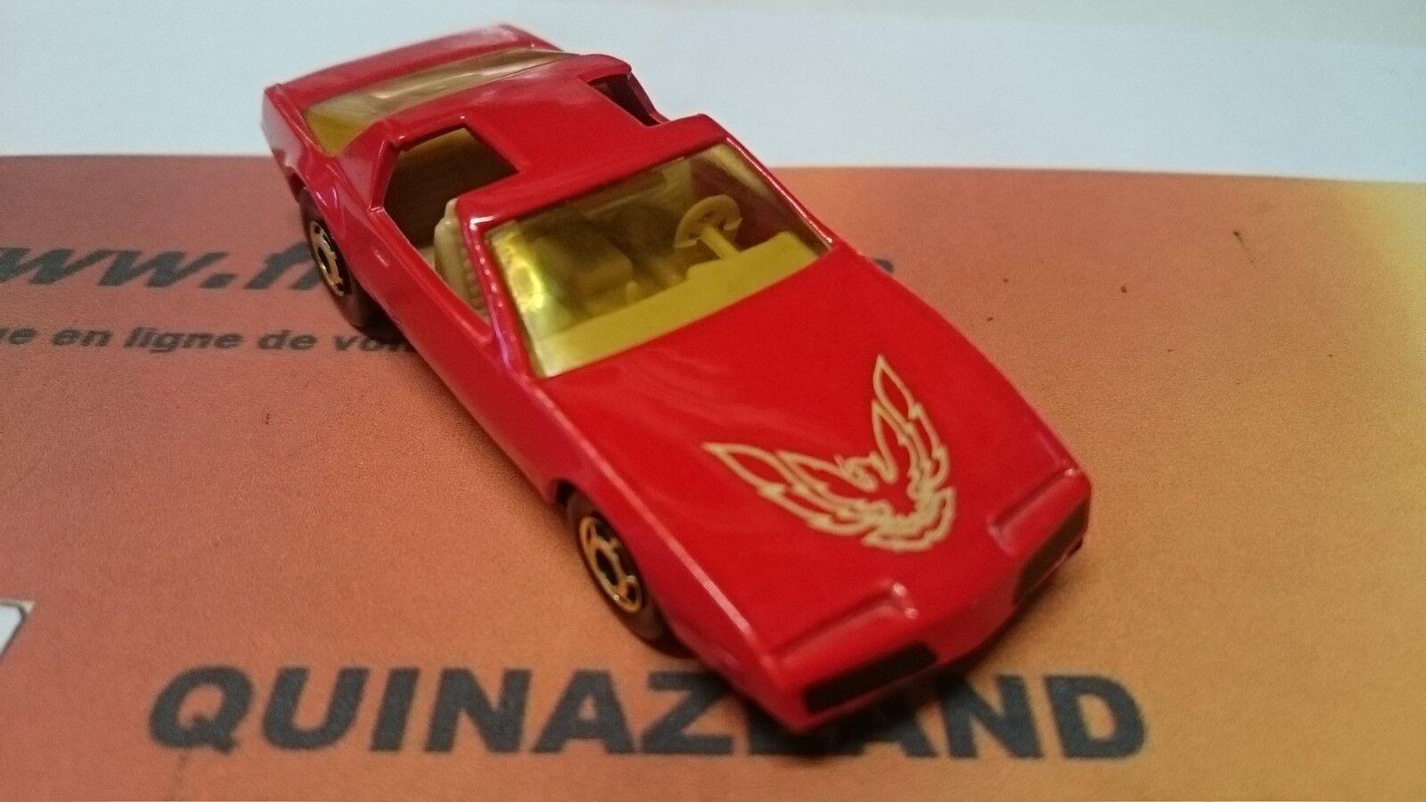 Hot Firebird Wheels 80's Firebird Pontiac rouge foncée Firebird Hot jaune claire (B38) 33828c