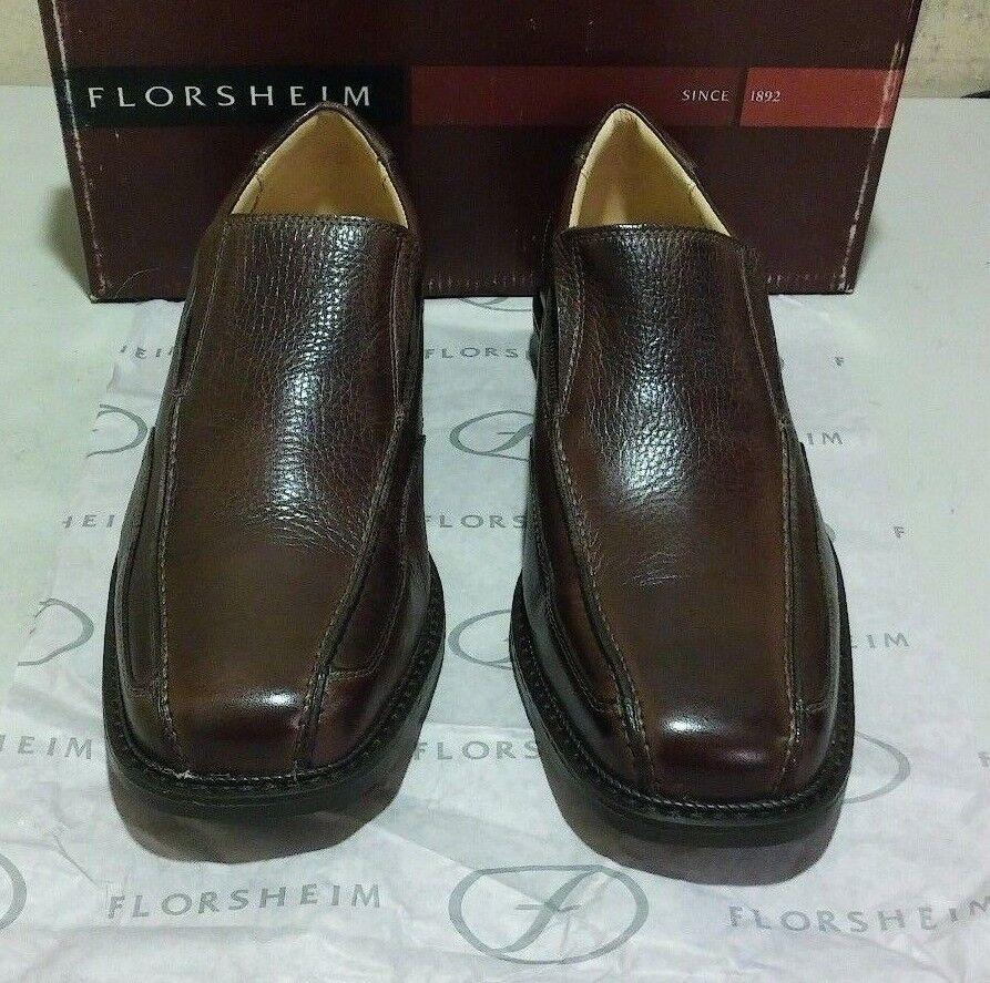New Florsheim Brady 10.5 W brown (2372)